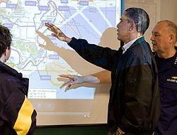 Obama visitó costa del Golfo de México para conocer zona afectada por de...