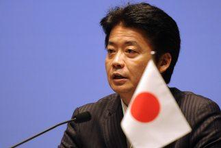 Koichiro Gemba,ministro nipón de Exteriores,detalló que el anuncio del...