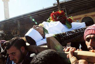 La violencia ha costado la vida a más de 8.500 personas en Siria desde e...