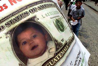 Las adopciones internacionales en Guatemala están suspendidas desde el 2...