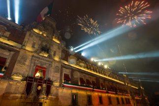 Imagen delPalacio Nacional en la Ciudad de México.