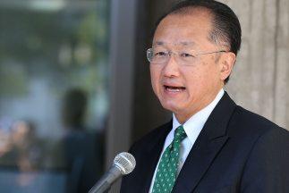 Jim Yong Kim del Banco Mundial.
