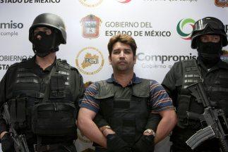 """""""scar Oswaldo García Montoya, """"El Compayito"""", presunto líder de la banda..."""