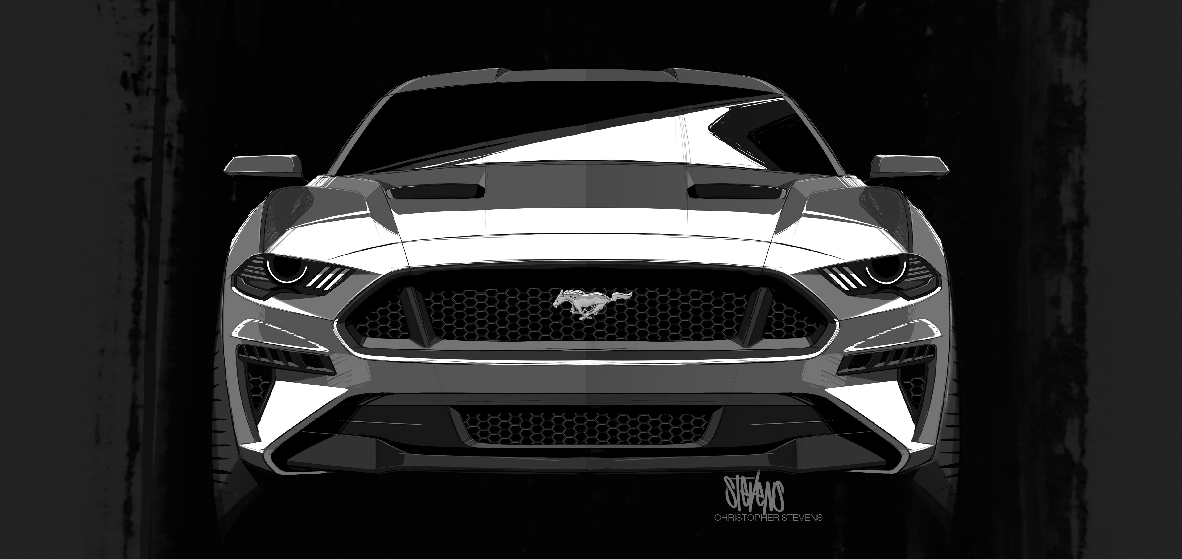 Este Es El Nuevo Ford Mustang 2018
