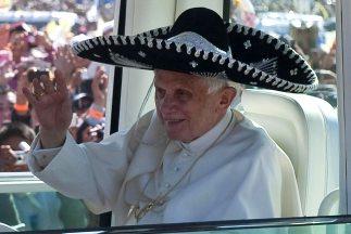 El papa Benedicto XVI tiene expresamente recomendado evitar la comida me...