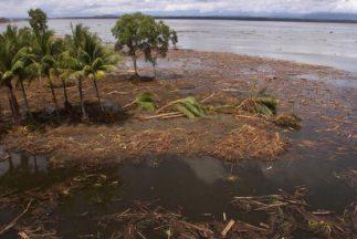 La isla de Nueva Guinea se asienta sobre el 'Anillo de Fuego del Pacífic...