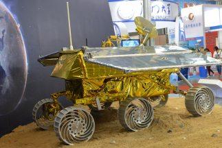 Yutu (Conejo de jade) es el robot de exploración que China planea lanzar...