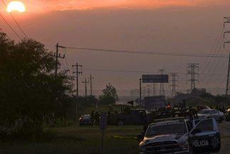 Elementos de la Policía Federal mexicana.