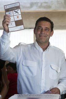 Eugenio Hernández Flores, ex gobernador de Tamaulipas.