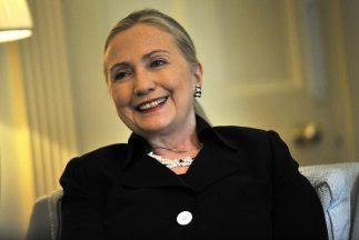 La secretaria de Estado Hillary Clinton salió del hospital, según report...