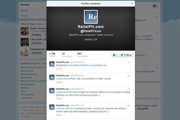 El uso de herramientas como Twitter ha sido de gran ayuda para coordinar...
