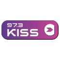LOGO IMAGE KISS 97.3 FM SOCIAL FOLLOW
