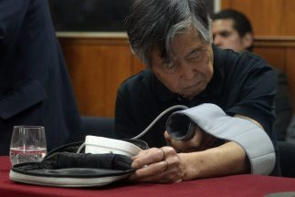 Alberto Fujimorifue internado debido a la pérdida de sensibilidad en el...
