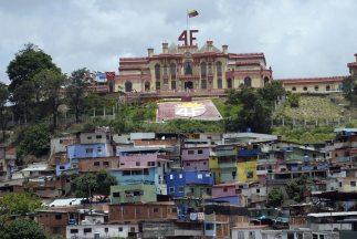 Cuartel de la Montaña, ubicado en el oeste de Caracas.