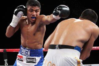 Román González contra Francisco Rodríguez en Nicaragua.