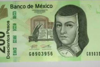 Los billetes de 200 y 500 pesos son los que con mayor frecuencia se fals...