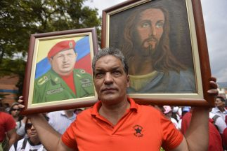La publicación de las primeras fotografías de Hugo Chávez suponen un ali...