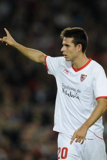 Manu del Moral hizo el gol del Sevilla.