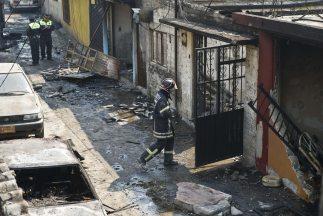 La explosión del 7 de mayo pasado en el centro de México sigue dejando v...