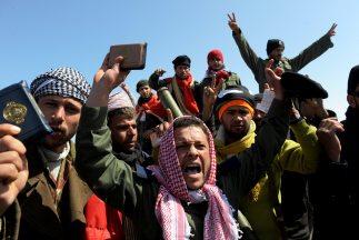 Los re4beldes libios dijeron que el alto al fuego anunciado por el régim...