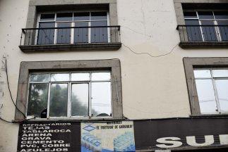 Fachada del bar en Ciudad de México donde estuvo Shabazz el día de su mu...
