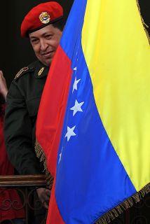 El liderazgo regional del presidente de Venezuela, Hugo Chávez, podría v...