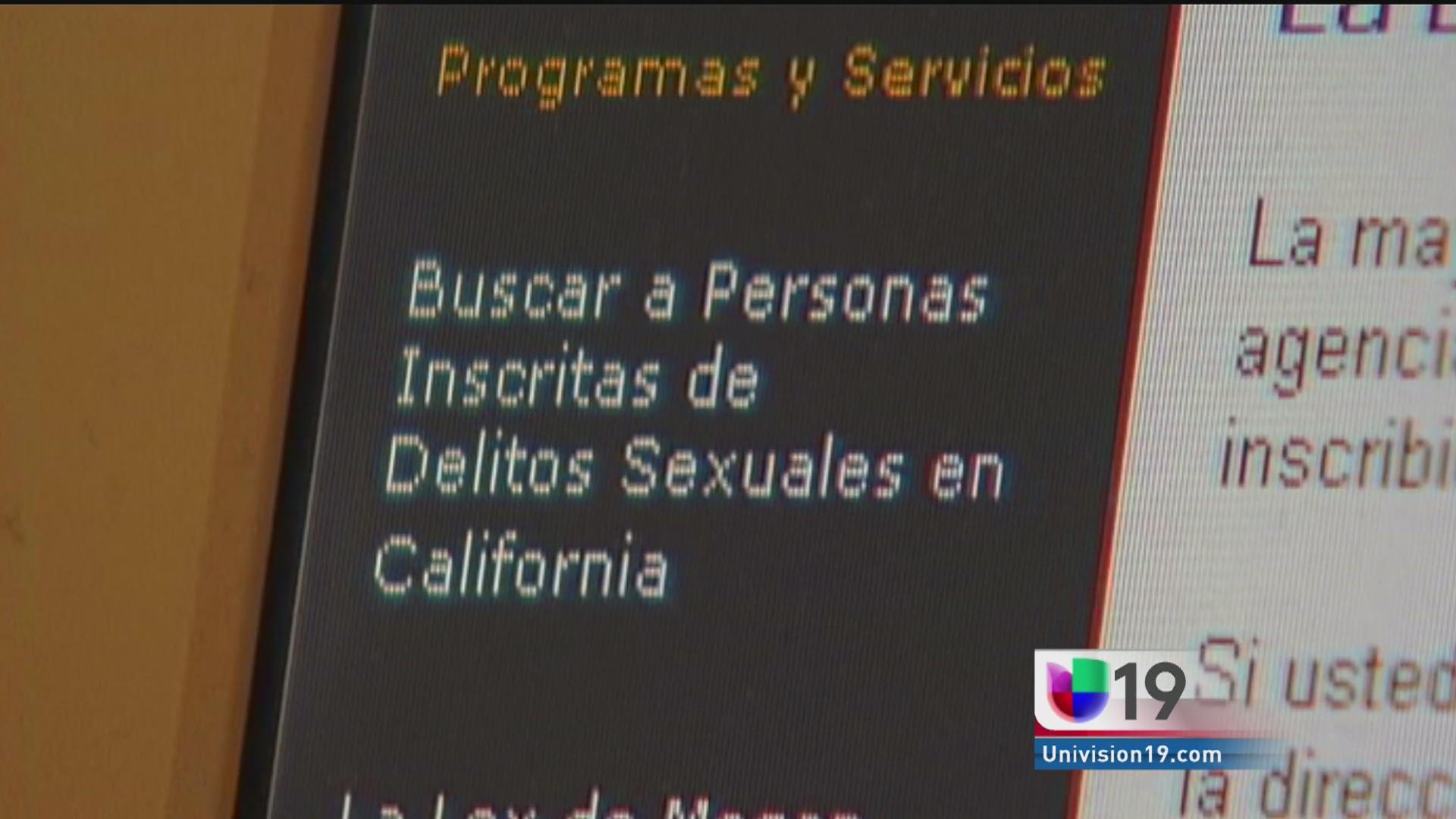 Lista de ofensores sexuales de Conn