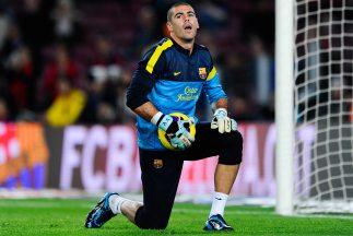 El 2014 se acaba el vínculo de Valdés con el Barcelona y el portero no d...