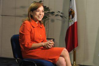 Josefina Vázquez Mota, influyente política del oficialista Partido Acció...