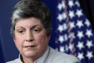Janet Napolitano, Secretaria del Departamento de Seguridad Nacional (DHS...
