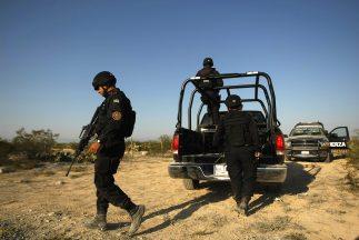 El cuerpo del jefe policiaco fue hallado en un predio cercano a la zona...