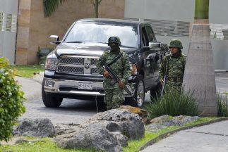Elementos del Ejército mexicano en Morelos.