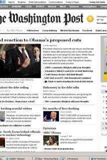 El periódico The Washington Post reveló haber sido blanco de un ataque p...