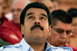 """El presidente de Venezuela hizo un llamamiento """"a la paz y el diálogo"""" a..."""