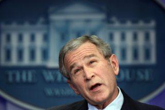 El ex presidente de Estados Unidos George W.Bush (2001-2009).