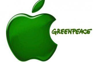 """Greenpeace """"regañó"""" de nueva cuenta a Apple por su falta de conciencia."""