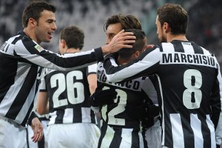 Los futbolistas de la 'Vecchia Signora' felicitan a Giovinco, autor de u...