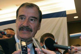 Vicente Fox, ex presidente de México.