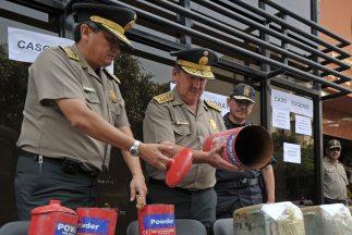 Según agencias estatales,ladrogafue decomisada en dos operaciones rea...