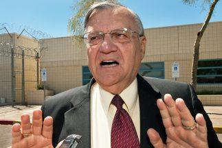 El alguacil de Maricopa Joe Arpaio.