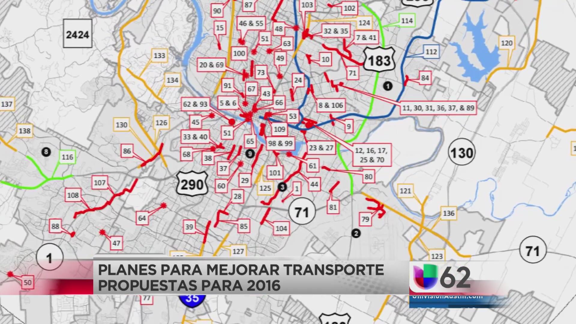 Alcalde de Austin anuncia plan contra el congestionamiento vial