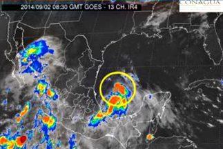 La tormenta Dolly tocaría tierra el martes por la noche. (Imagen tomada...
