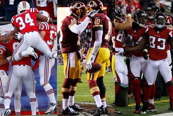 Los Patriots ligaron 5 campañas anotando más de 500 puntos; Redskins tuv...