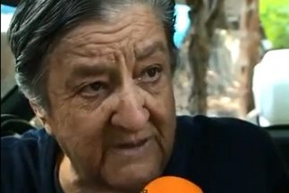 "Mamá Rosa, fundadora del albergue ""La Gran Familia""."