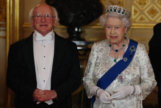 Es el primer viaje que realiza un presidente irlandés al Reino Unido.