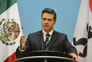 Enrique Peña Nieto, presidente de México.