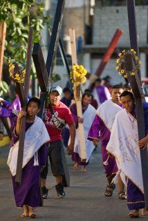 El mundo católico celebra Semana Santa.