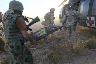 El número de soldados extranjeros muertos en Afganistán en lo que va de...