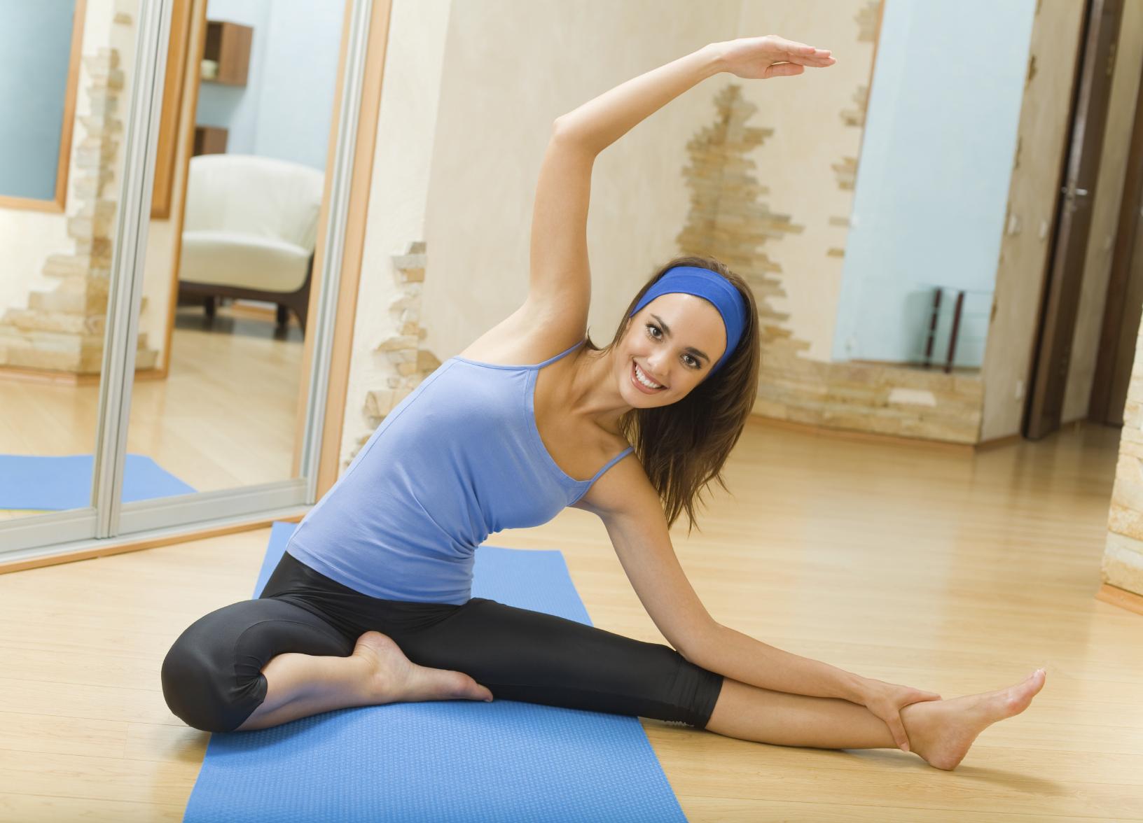 Упражнения на растяжку. Комплекс упражнений на растяжку в 28