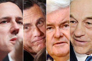 En lo que va de la carrera republicana Romney acumula 429 delegados, San...